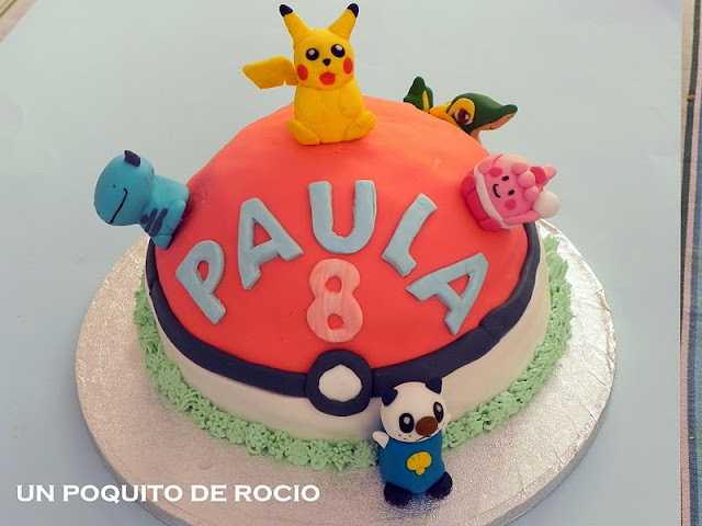 TARTA POKEMON