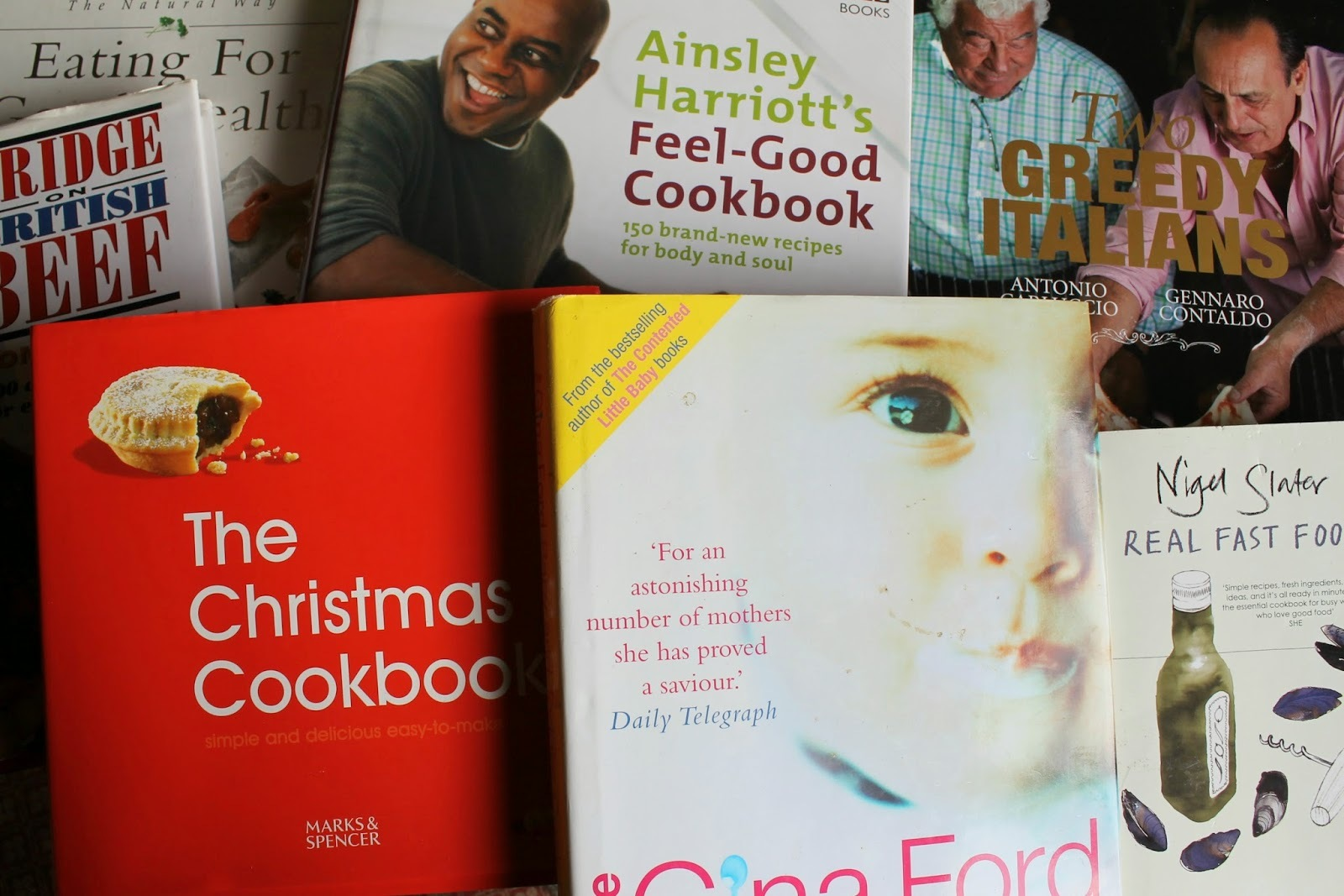 Cookery Book Clearout