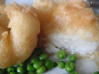 Gluten-free Battered Fish and onion rings