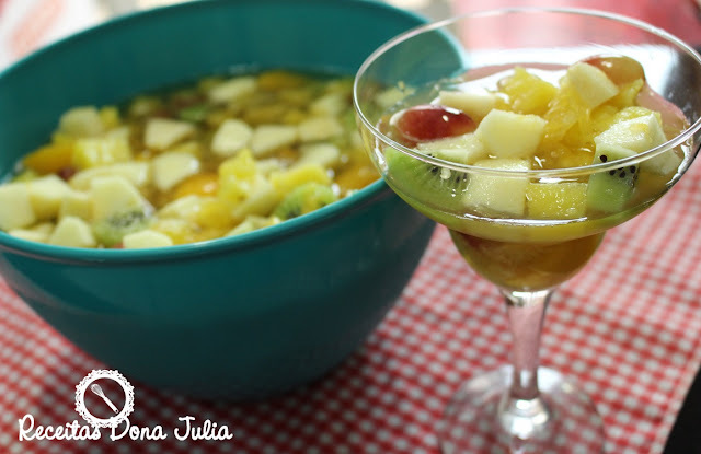 SALADA DE FRUTAS #YOUTUBE
