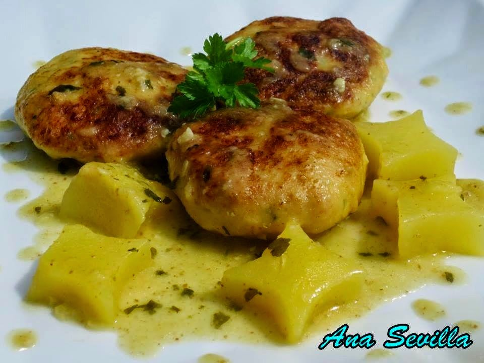 Filetes rusos de pollo en salsa olla GM