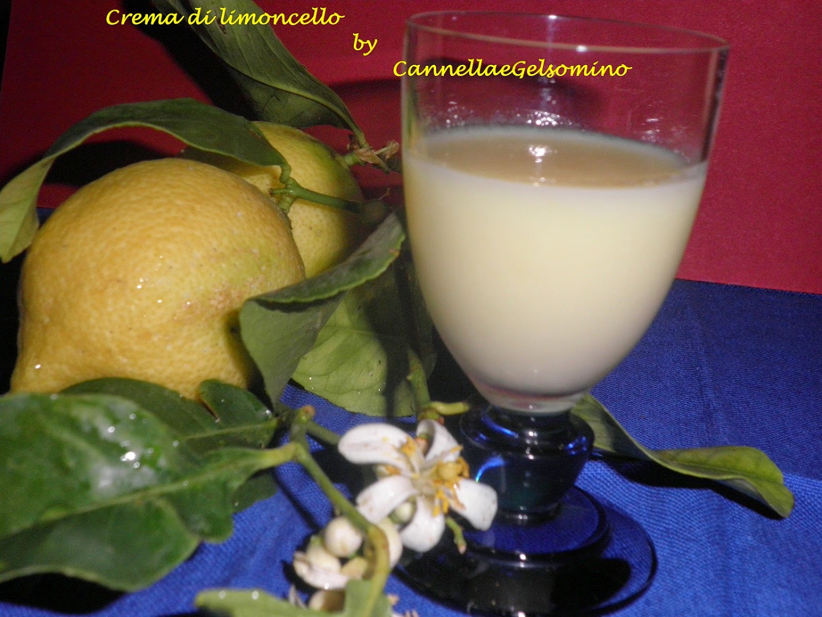 Limoncello in crema