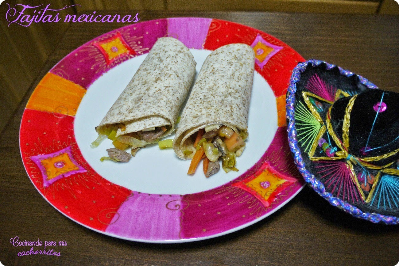 Fajitas mexicanas {child style}
