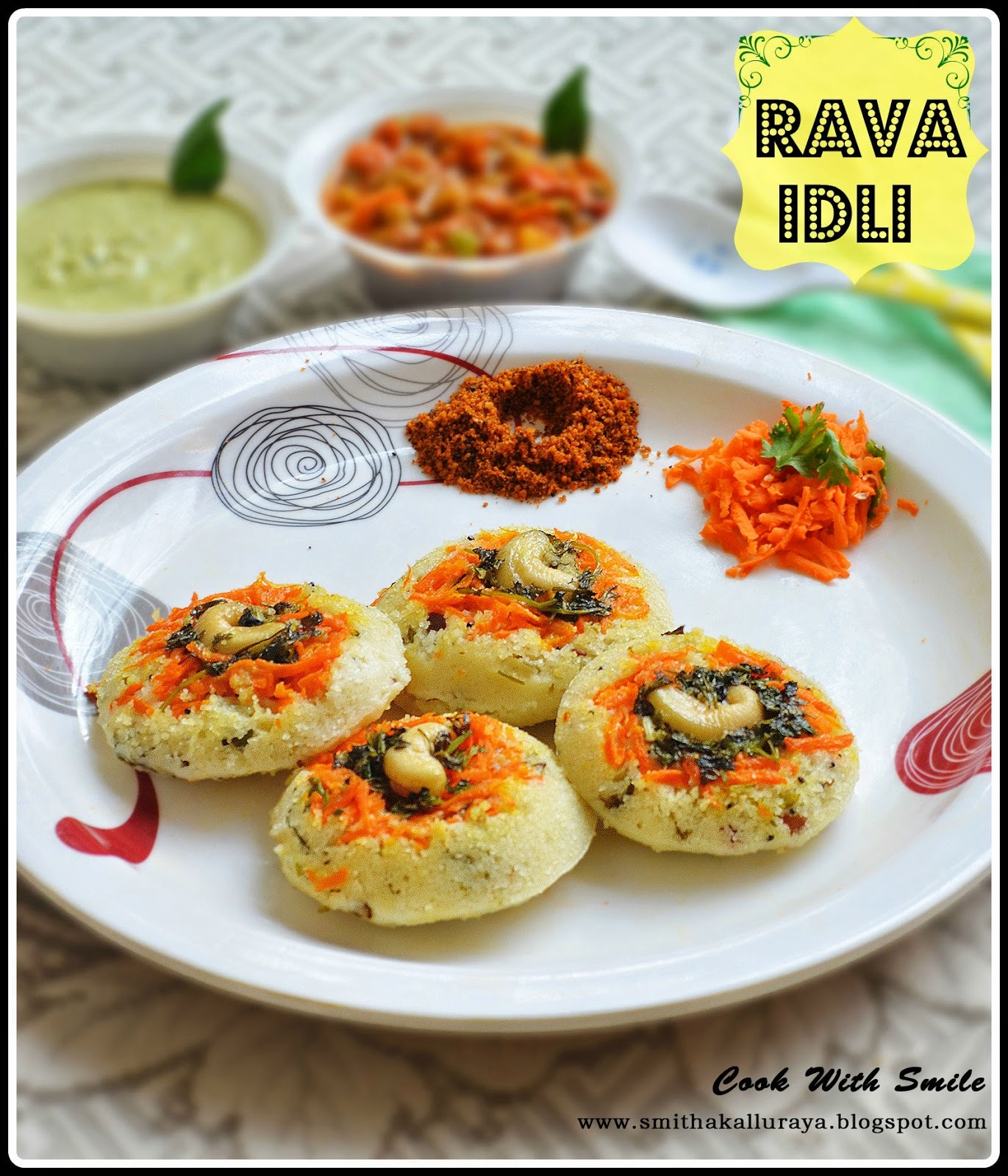 RAVA IDLI RECIPE / SEMOLINA IDLI / SUJI KI IDLI ~ INSTANT BREAKFAST OPTION ..