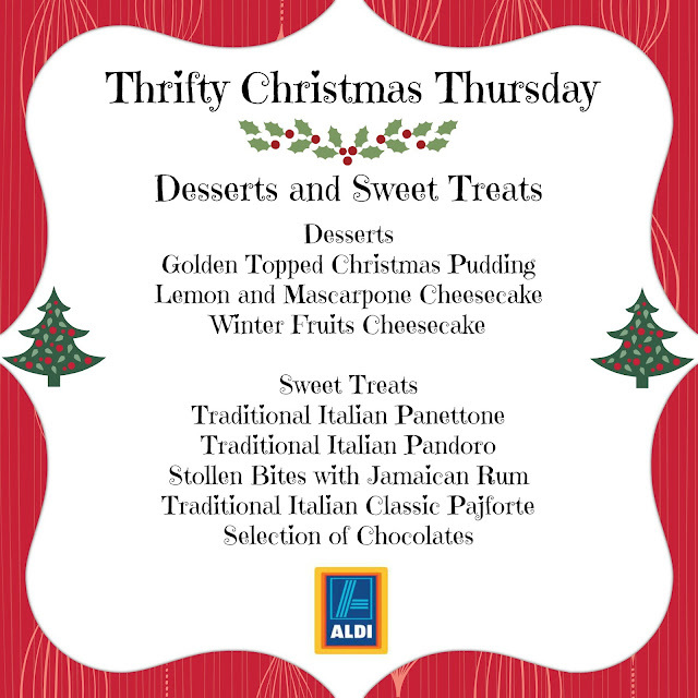 Thrifty Christmas Thursday - Desserts and Sweet Treats