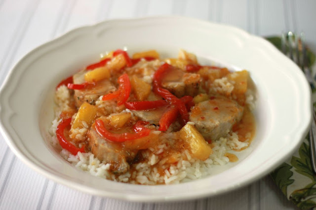 Get back into a Fall routine with 30 minute Sweet and Sour Pork