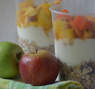 Lunchbox idea: Breakfast in a Cup