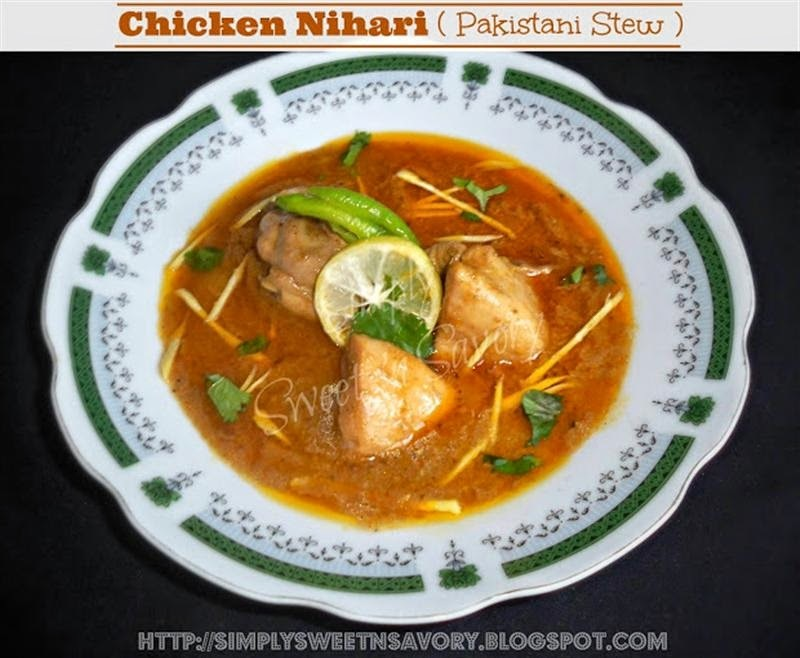Chicken Nihari ( Pakistani Stew )