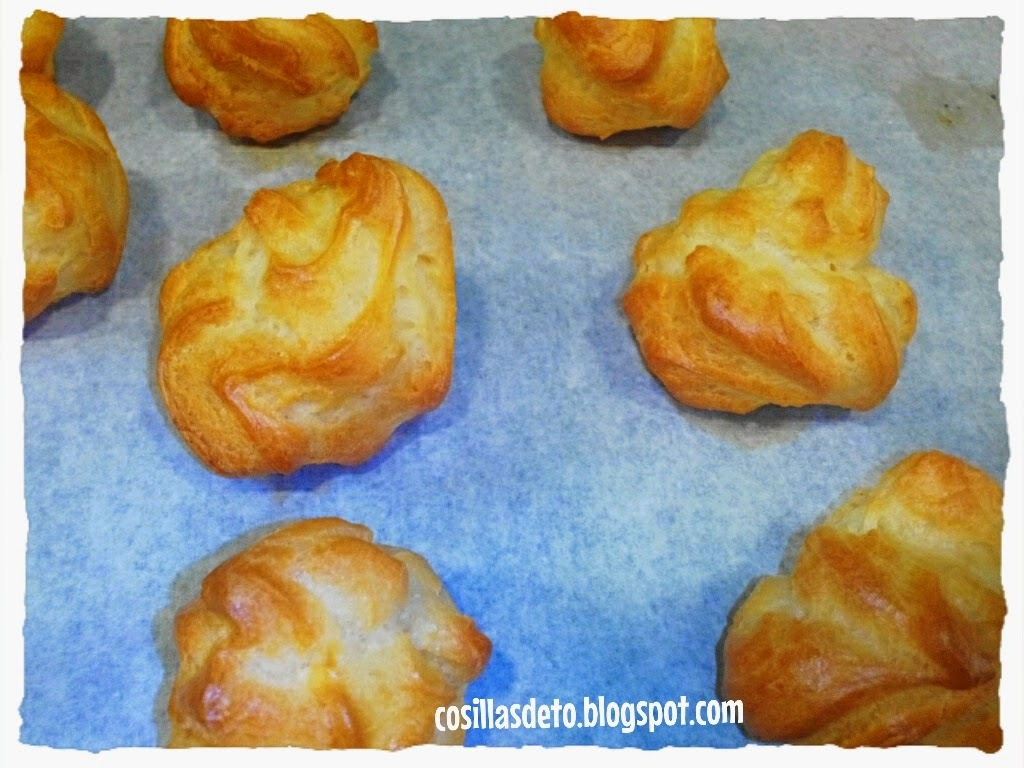 Masa Choux con thermomix ,Choux dough with Thermomix