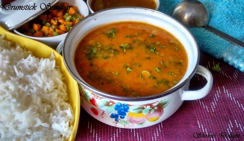 Brinjal sambar recipesmyTaste.in