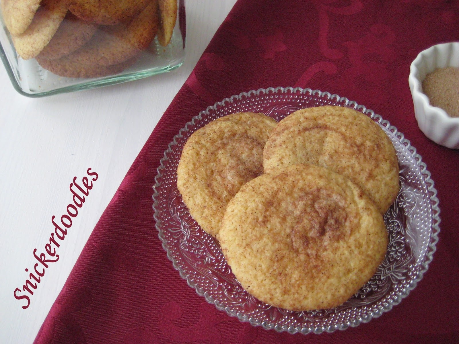 Snickerdoodles (galletas de canela)