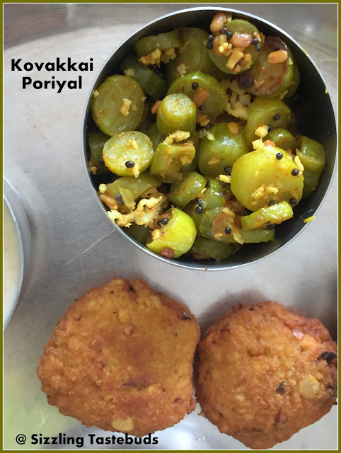 Kovakkai Curry | Ivy gourd stir fry | Easy #sidedish