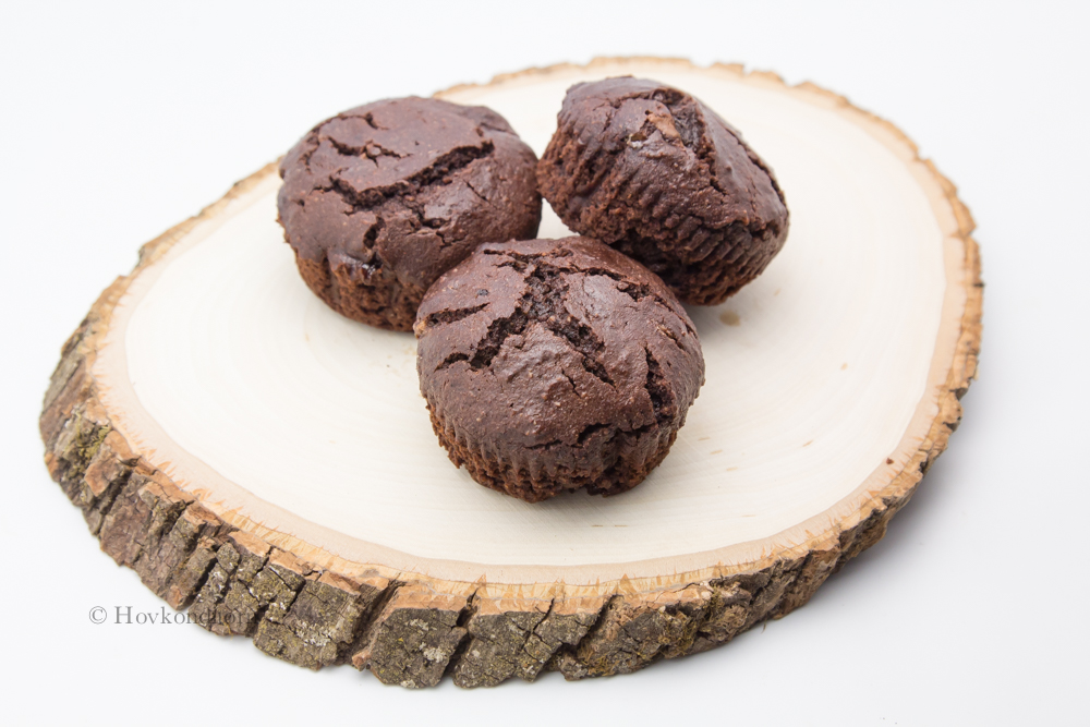 Chocolate Muffins, milk free