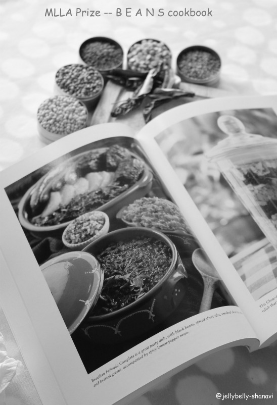 Black and White Wednesday --MLLA Prize - B E A N S cookbook