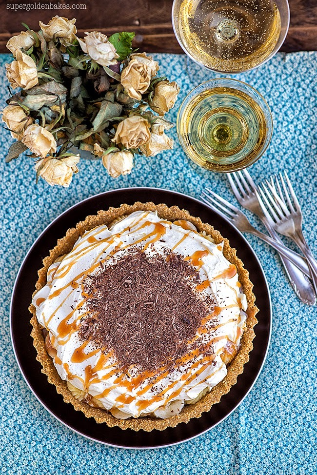 Glorious no-bake Banoffee Pie