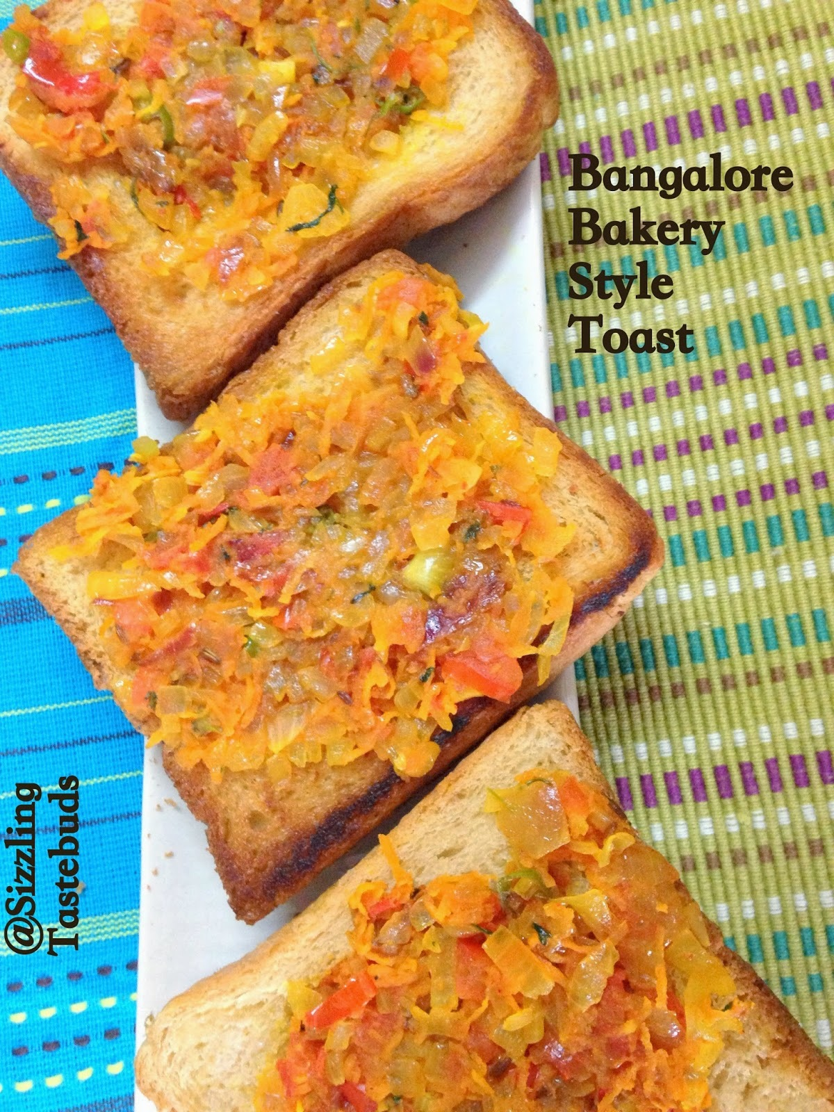 Bangalore Bakery Style Masala Toast | Evening Snack varieties