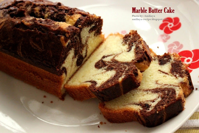Marble Butter Cake 云石牛油蛋糕