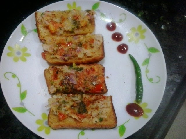 Rava toast|Sooji toast recipe, how to make rava toast recipe