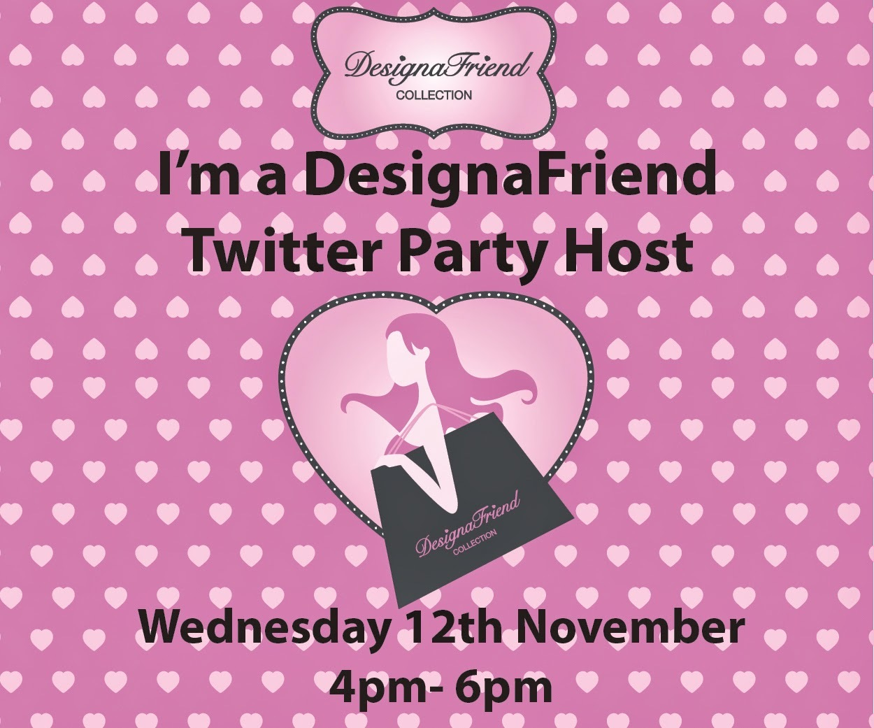 Get ready for another twitter party on Wednesday 12th November !