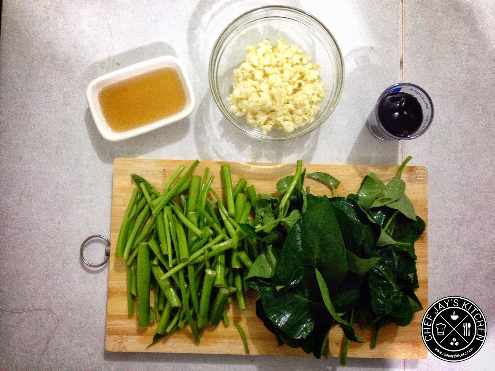 Try This Simple, Delicious Kangkong (Water Spinach) and Garlic Recipe