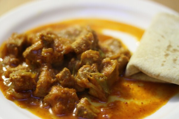Curry de porc du nord-est de l'Inde - North East India pork curry