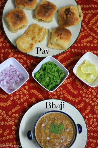 what side dish go with pav bhaji