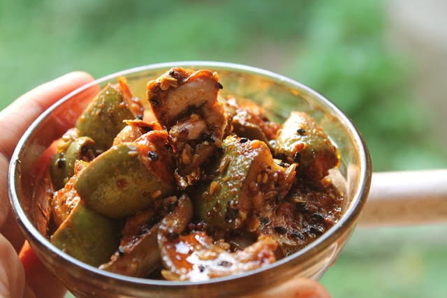 Punjabi Mango Pickle Recipe