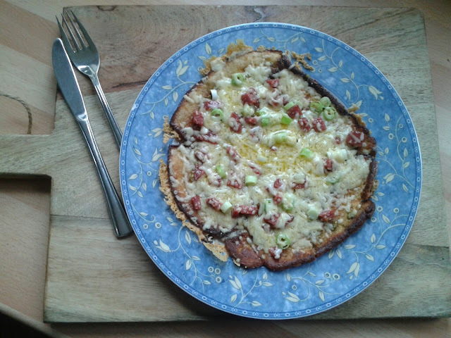 Pizza pannenkoek... en nog koolhydraatarm