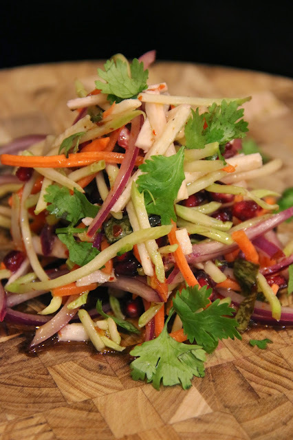 JIMICA AND POMEGRANATE SLAW
