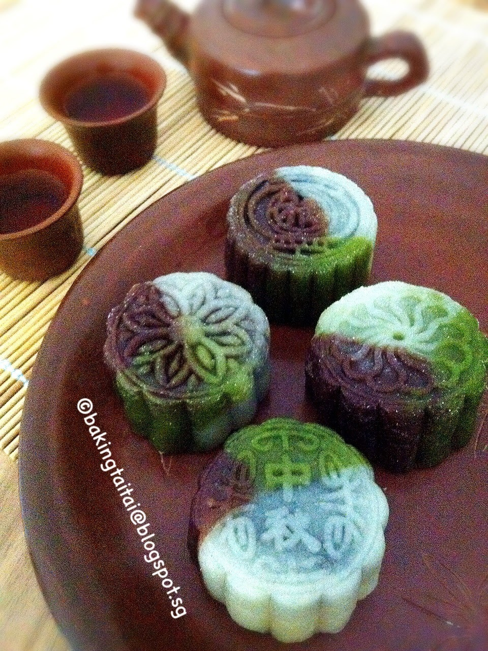 Healthy All Natural Snow-skin Mooncake 健康全天然材料冰皮月饼 (中英食谱教程)