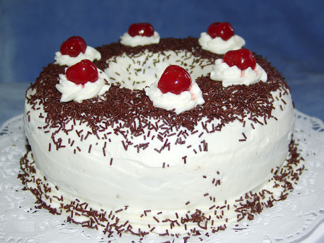 TARTA DE CHOCOLATE CON CREMA DE QUESO