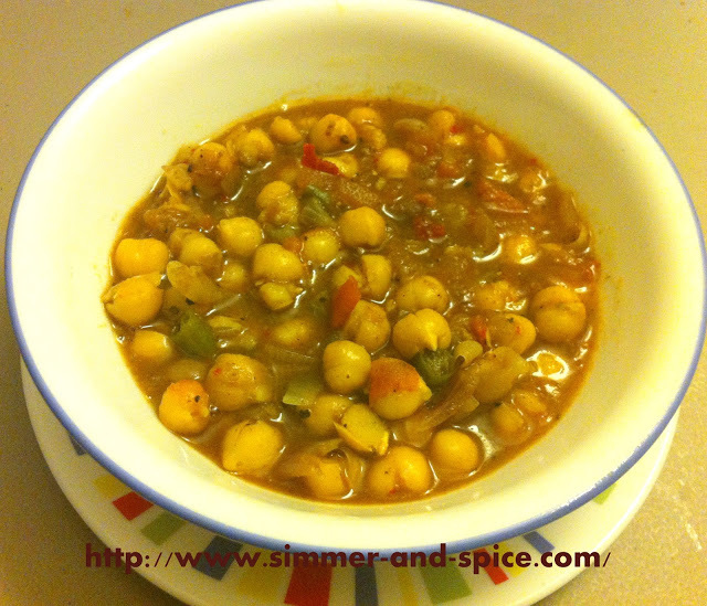 Punjabi Chole (Chickpeas) Recipe