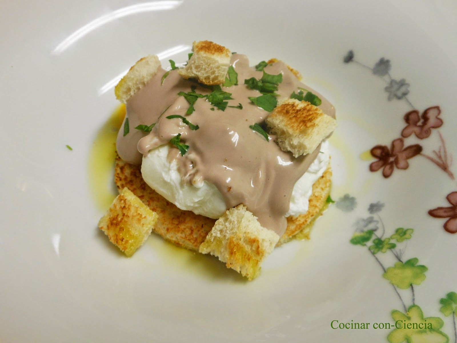 Cooking the Chef 4 (Abril 2015): Huevos escalfados a la Beaujolaise (Paul Bocuse)