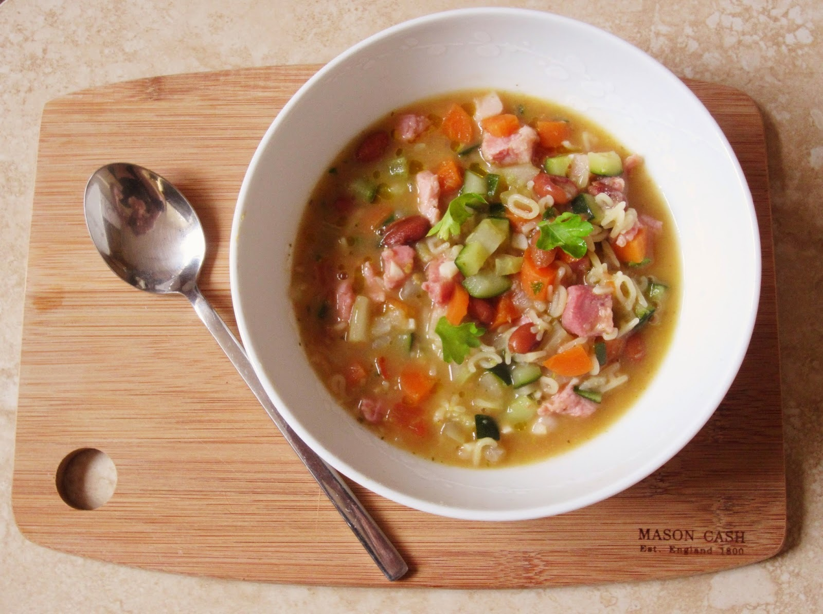 Minestrone Soup for all ages