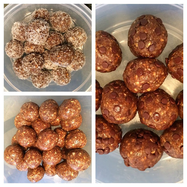 Oats, Flaxseeds & Dry Fruits Energy Bites .