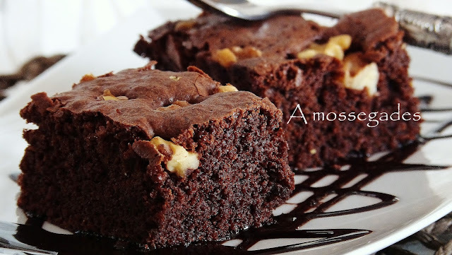 BROWNIE DE XOCOLATA.