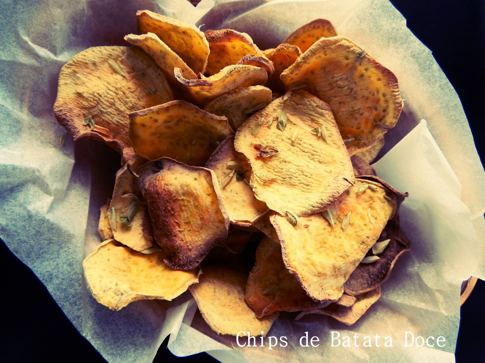 Chips de Batata Doce / Sweet Potato Chips