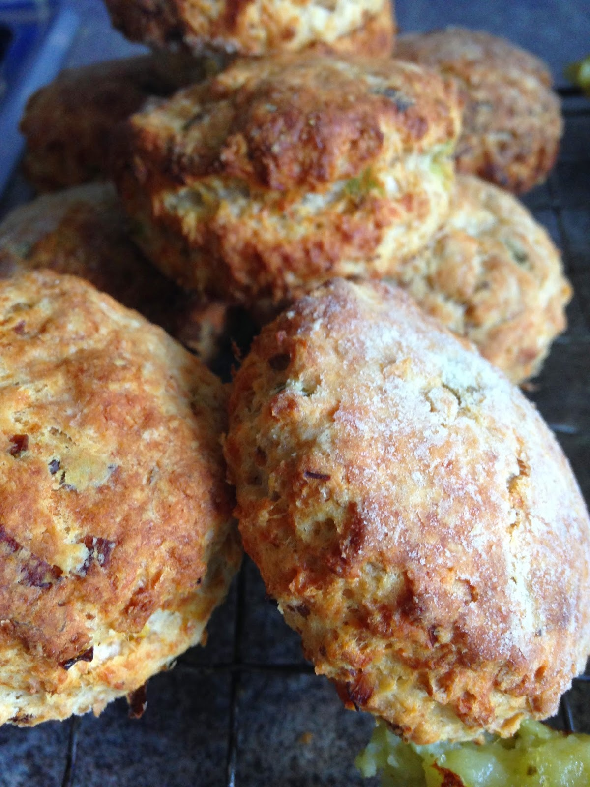 Savoury Scones for the Six Nations