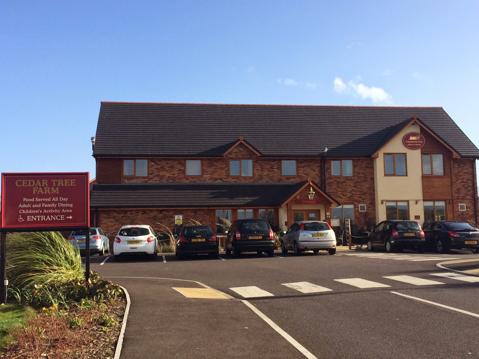 Carvery, Cake & Community - Restaurant Review: Cedar Tree Farm, Cardiff