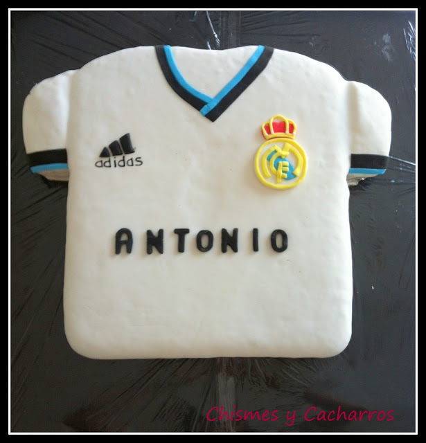 Tarta Camiseta Real Madrid 2012-2013
