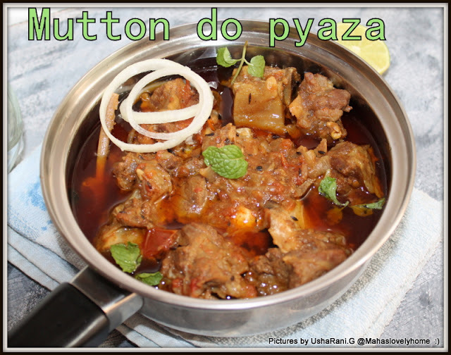 Mutton Do Pyaza | Mutton Do Piaza | Indian Style Mutton Dopiaza Curry | Easy Indian mutton Gravies For Rice and Roti | Gosht Curries