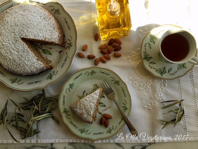 Bizcocho de aceite de oliva y almendras.- Cooking the Chef