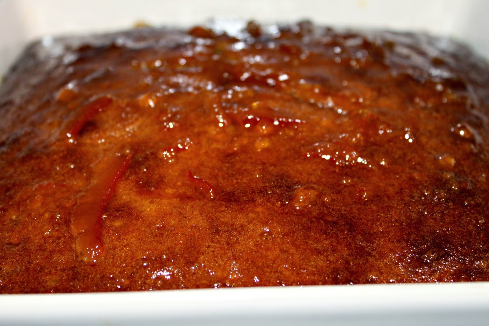 Orange and Sultana Pudding and a Giveaway