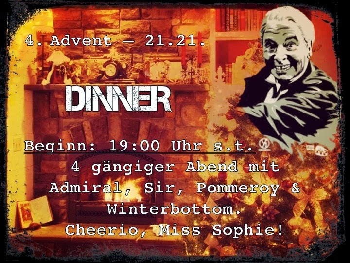 Nachlese: 4. Alternativer Advent - DINNER