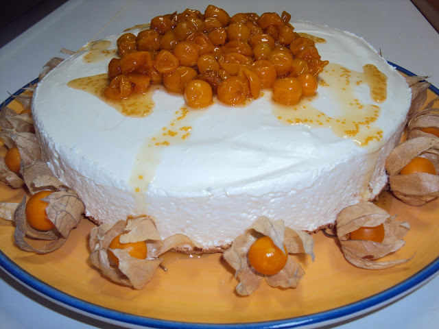 Cheesecake de Physalis