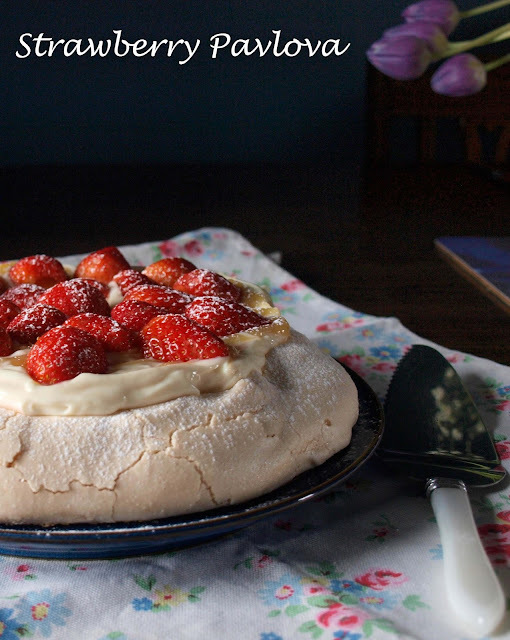 Sensational Strawberry Pavlova and 'How Baking Works' Review