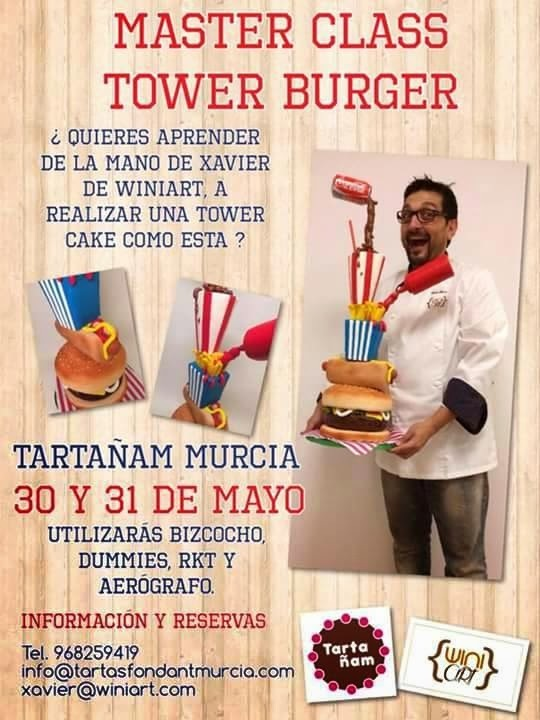 Tower Burger con TartaÑam...
