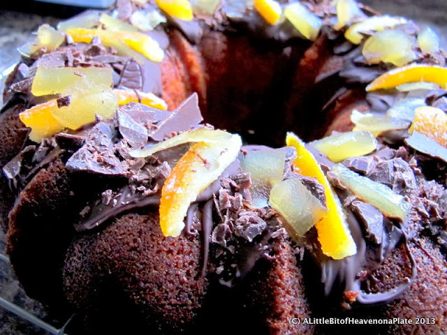 Spiced orange bundt  cake - recipe