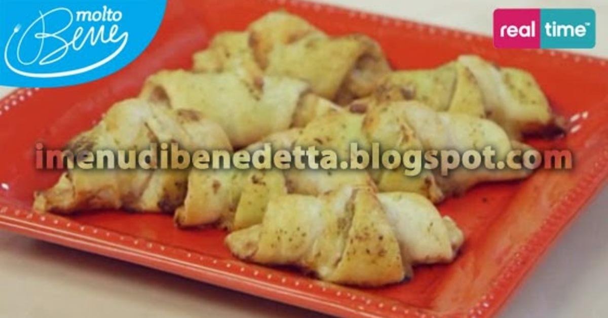 Ricette di cornetti salati di benedetta parodi mytaste for Ricette di benedetta parodi
