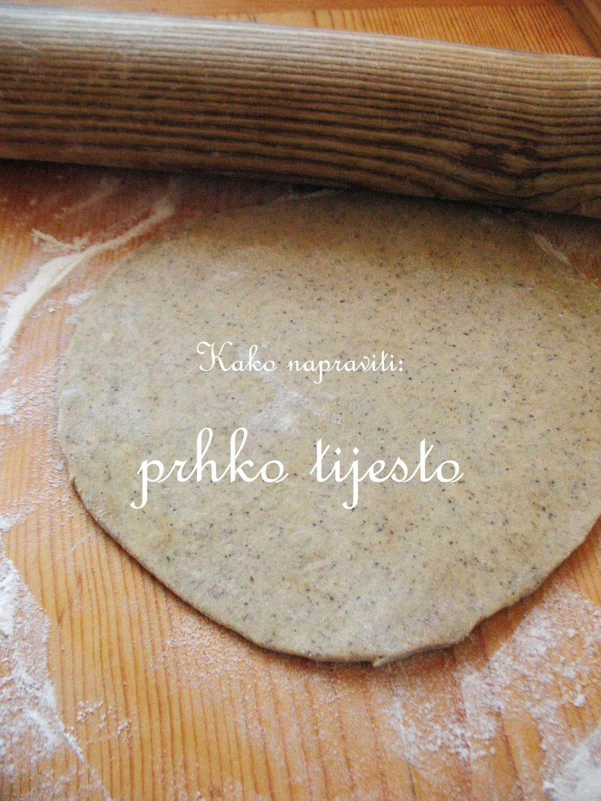 Tutorial: prhko tijesto/ Shortcrust pastry recipes
